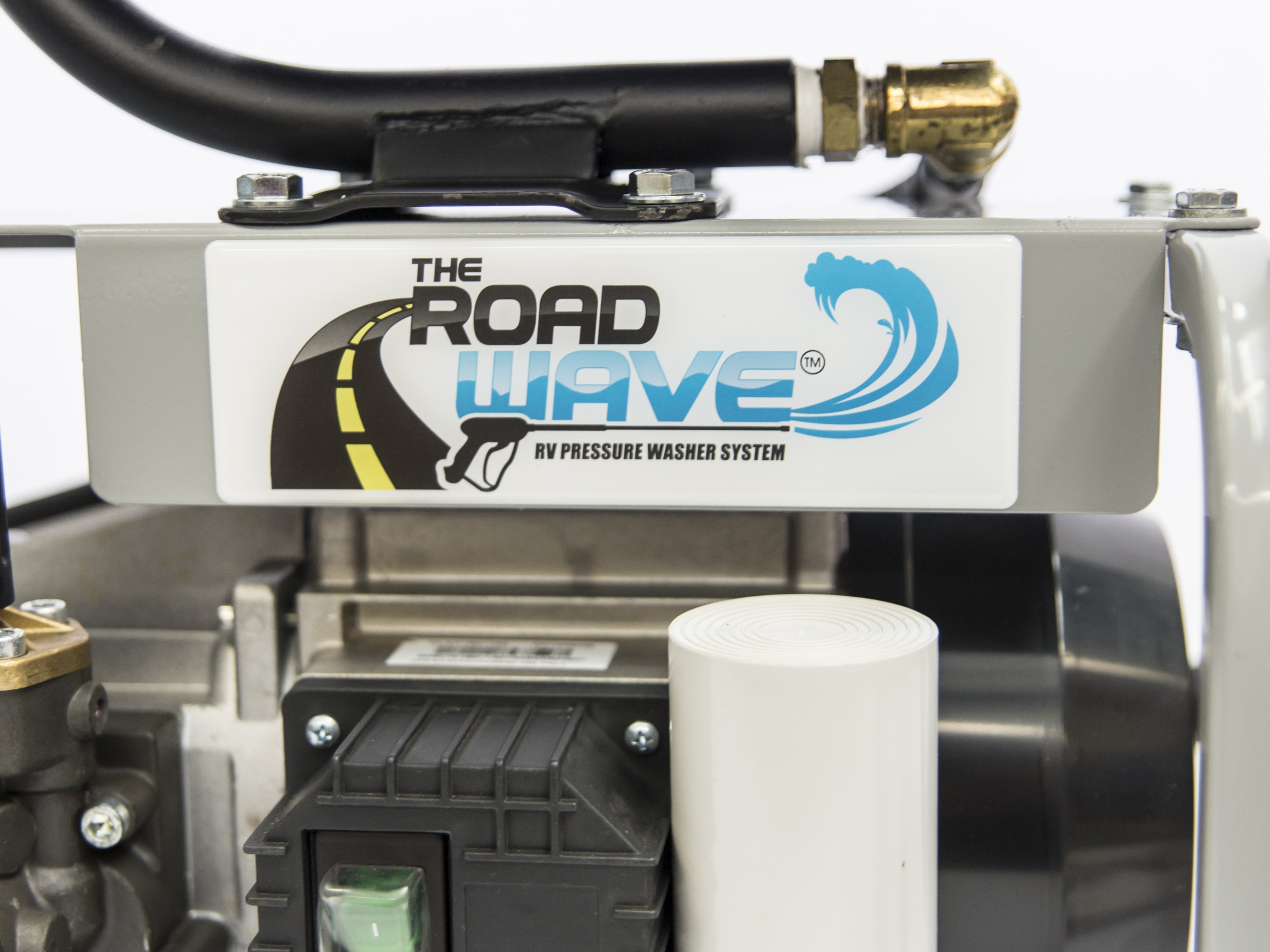 The Road Wave On Board Rv Pressure Washer System Water