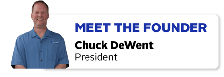 Meet the Founder of CR Spotless, Chuck DeWent