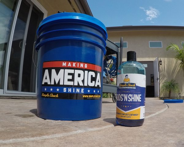 Wash Bucket with Grit Guard - CR Spotless Water Systems